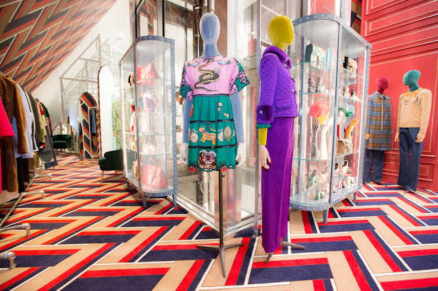 Gucci's Dover Street Market New York Store