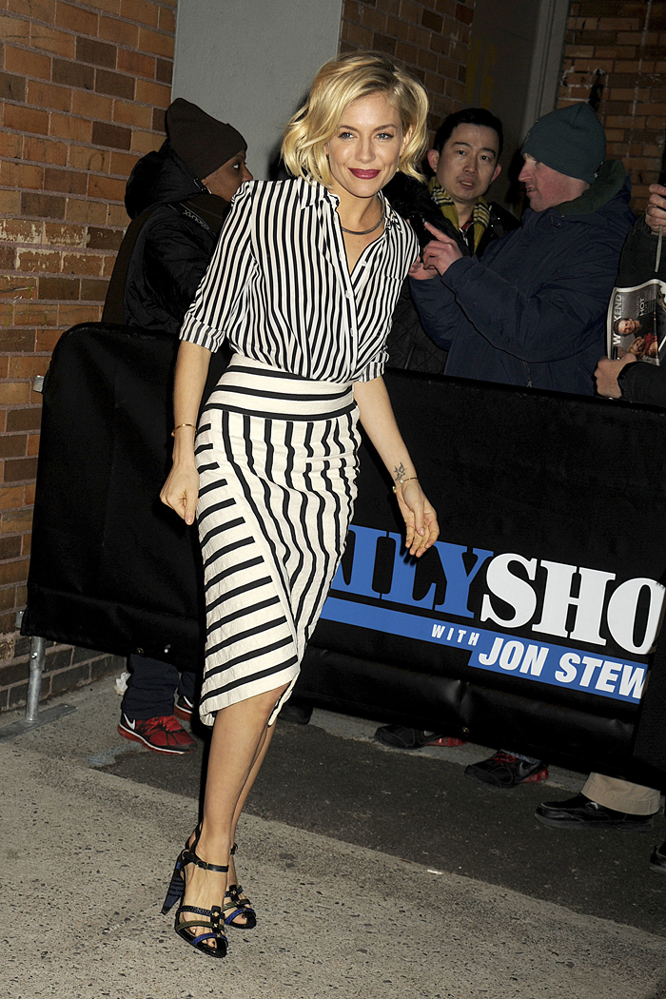 sienna miller style inspiration stripes 2015