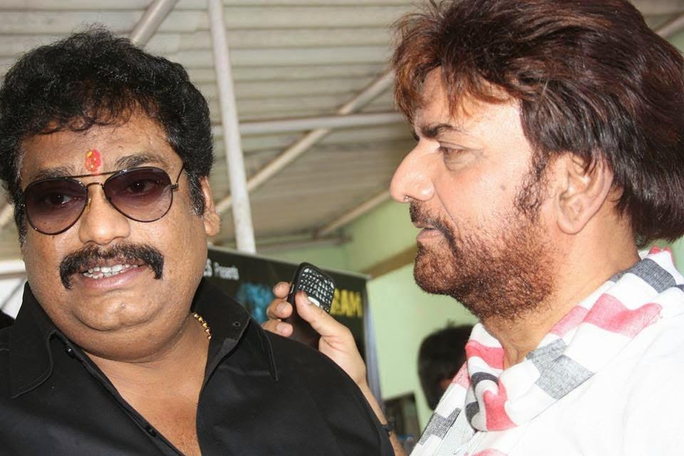 Sujit Tiwari and Kunal Singh at Bhojpuri New Movie 'Mokama 0 KM' Launch