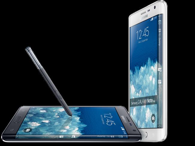 Desain Samsung Galaxy Note Edge Smartphone Samsung Galaxy Yang Unik