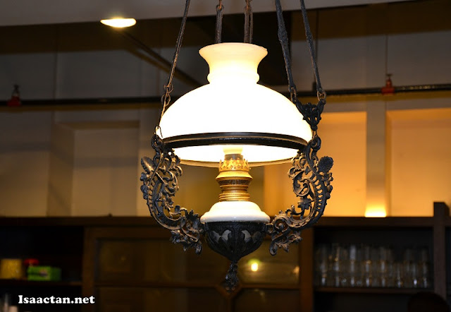 One of the lighting decor used at Coriander Leaf Restaurant