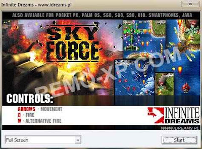 Remo-XP.com – Siapa yang tau game Sky Force Reloaded ?? Game ini