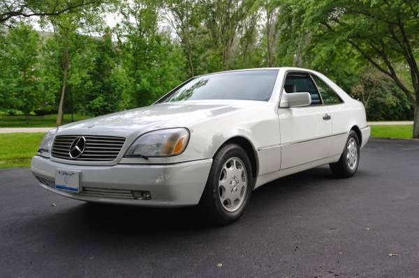 1995 mercedes benz s500 coupe auto restorationice for Mercedes benz s500 coupe