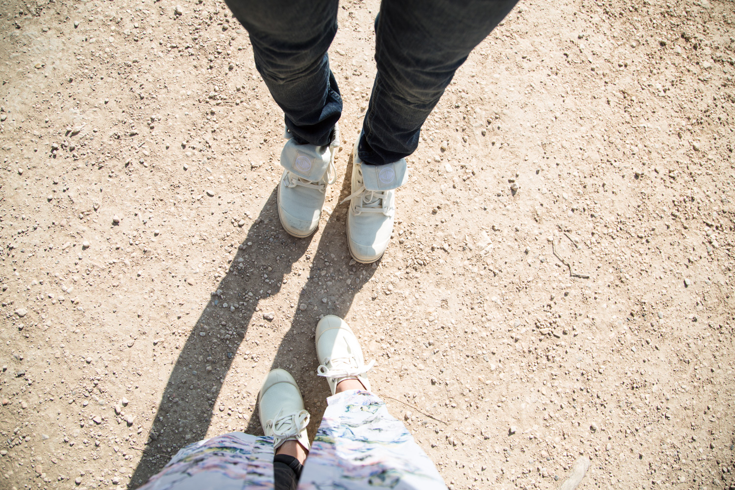His and Her Baggy Palladium Boots