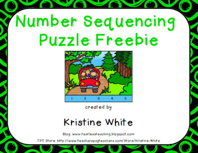 https://www.teacherspayteachers.com/Product/Number-Sequence-Puzzle-FREEBIE-1941207