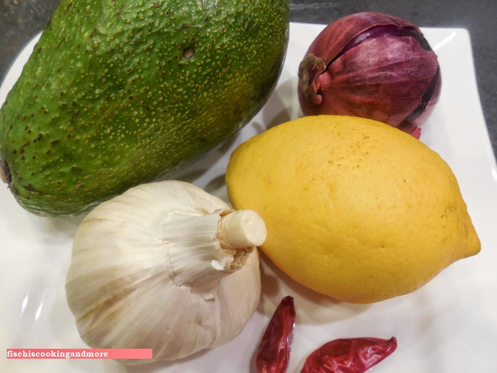 fischiscooking,avocadoaufstrich, guacamole