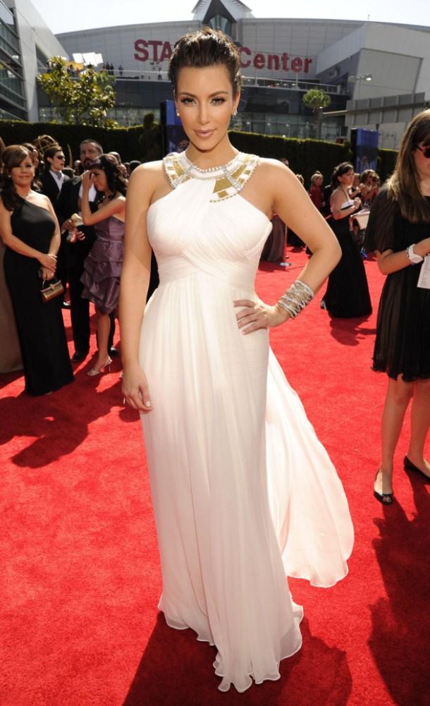 En Şık Kim Kardashian Gece Elbiseleri