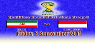 hasil indonesia vs iran