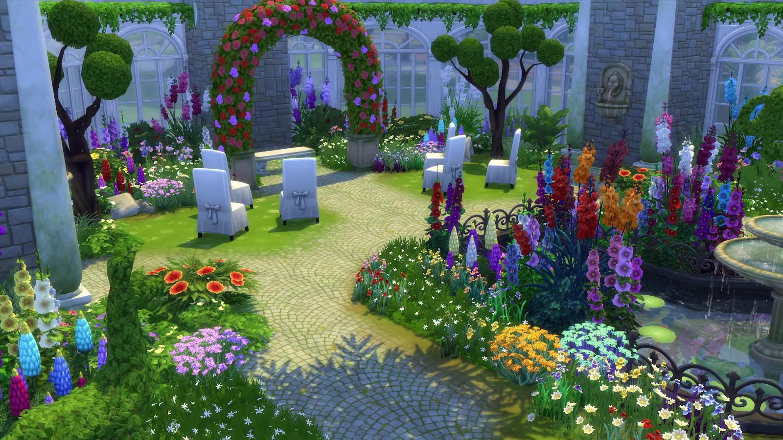 the sims 4 how to grow a garden