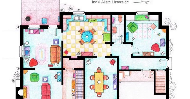 Planos de la casa de los simpson planos de casas gratis - Plano de la casa ...
