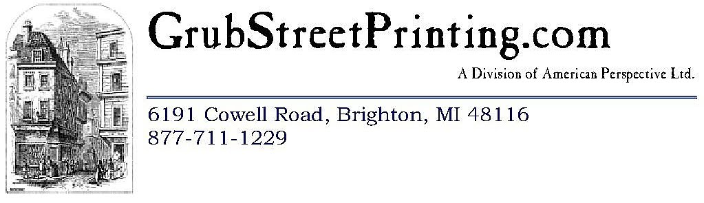 Grub Street Printing