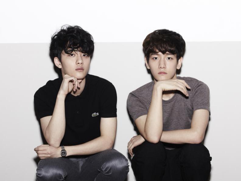 Entertainment Booth: EXO-K EXO-M Mama Album Photos