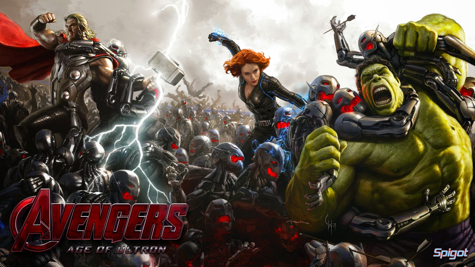 The Avengers Age of Ultron Wallpapers SantaBanta - ultron in avengers age of ultron wallpapers