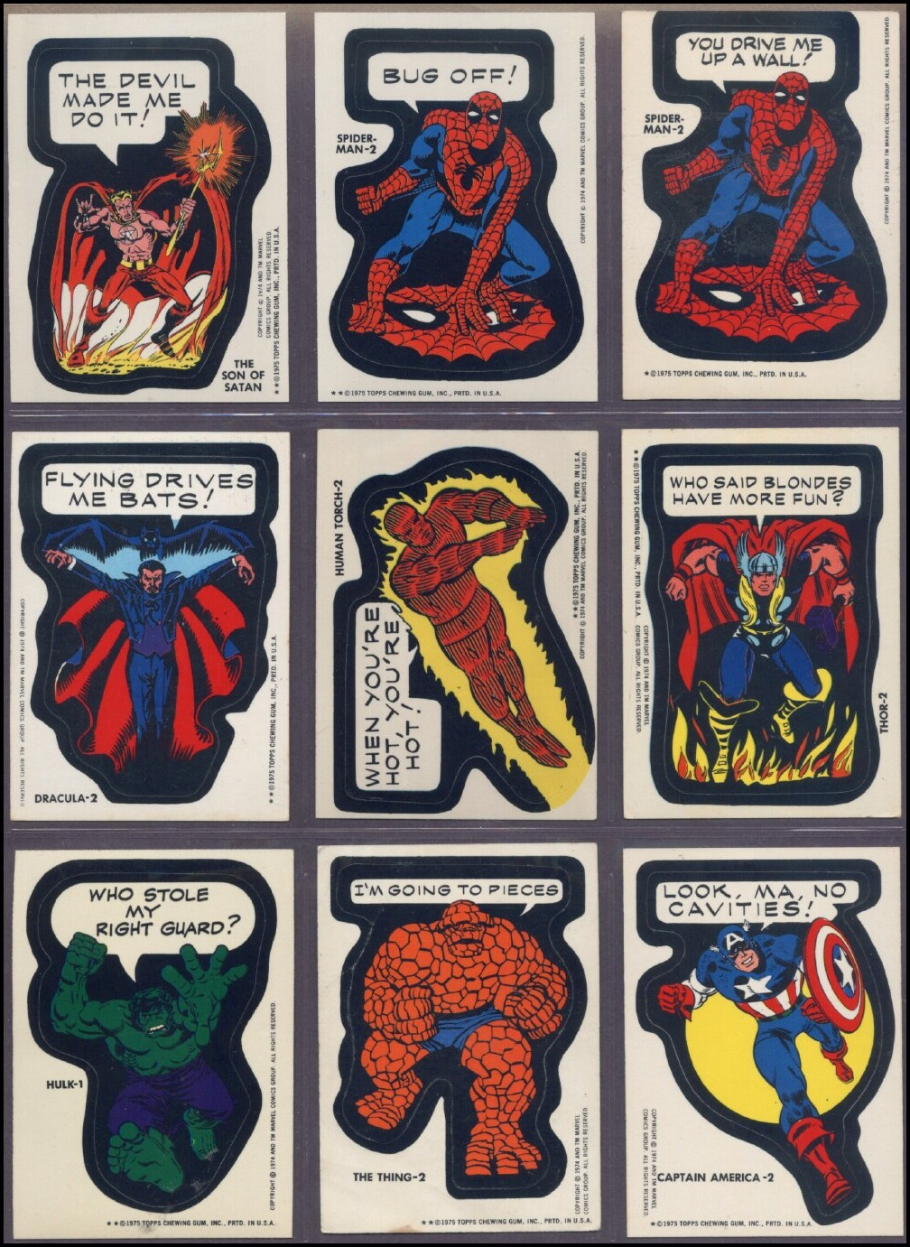 Fantasy Ink Marvel Superhero Stickers, 1975. Computer Education Logo. Clothes Signs. Love Art Decals. Problem Solving Banners. Printable Free Banners. Novel Logo. Store Signs Of Stroke. Bmp Banners