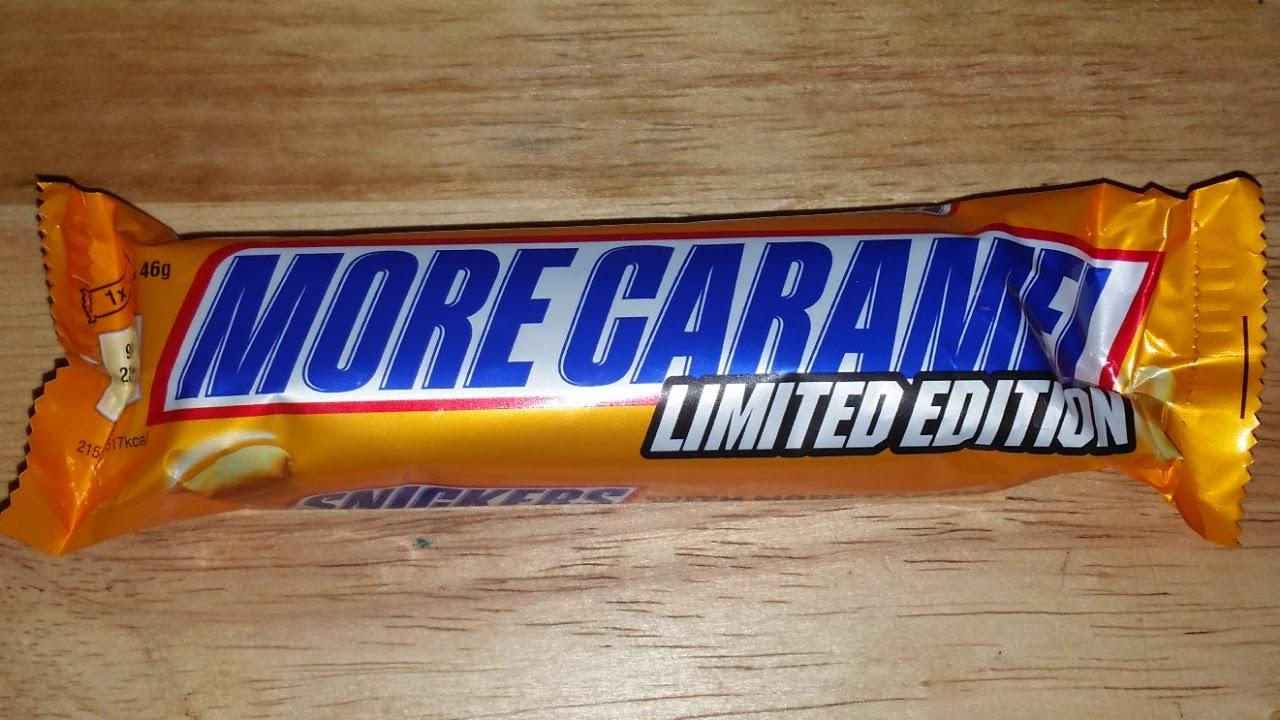 Caramel Wafer Bars Edition Bar More Caramel