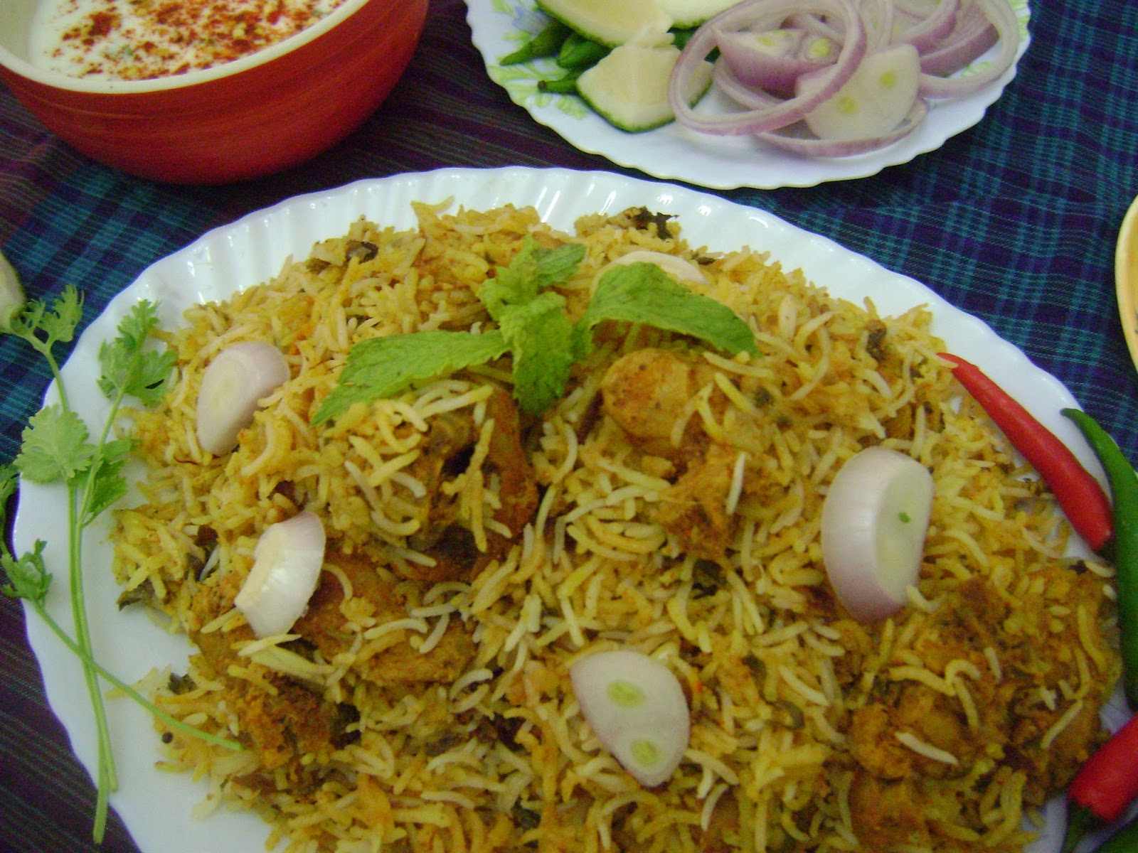 dum biryani pickled mutton dum biryani hyderabadi telangana style