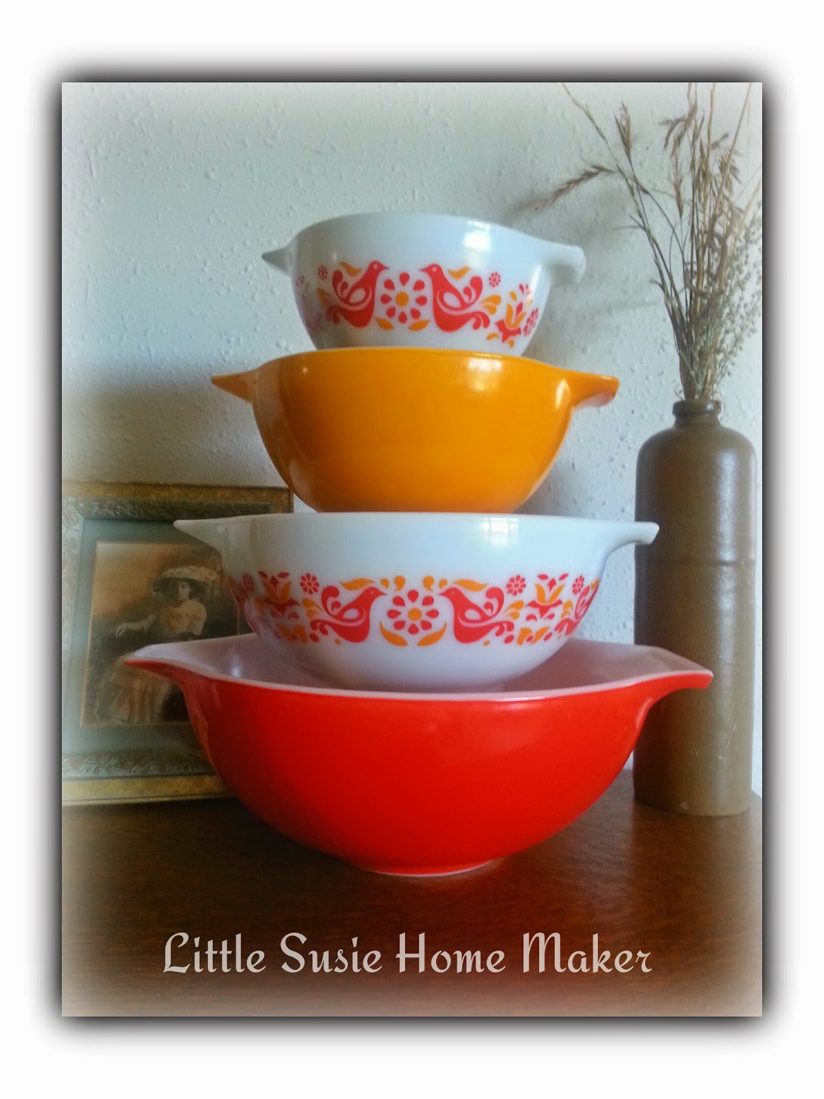 Little Susie Home Maker: Vintage Doll and Pixie and Pyrex Friendship ...