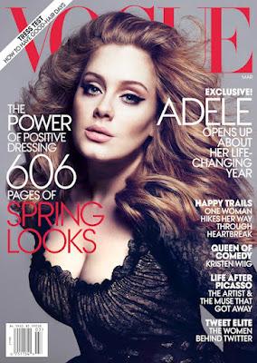 Adele en la portada de Vogue 14