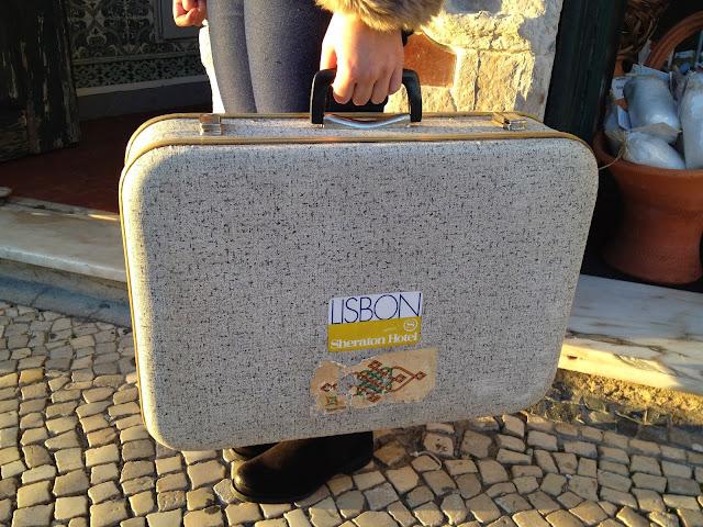 mala, viagem, vintage, sheraton, lisbon