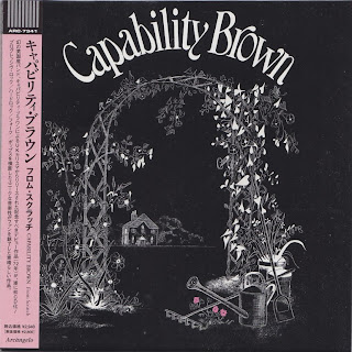 CAPABILITY BROWN - FROM SCRATCH (CHARISMA 1972) Jap mastering cardboard sleeve