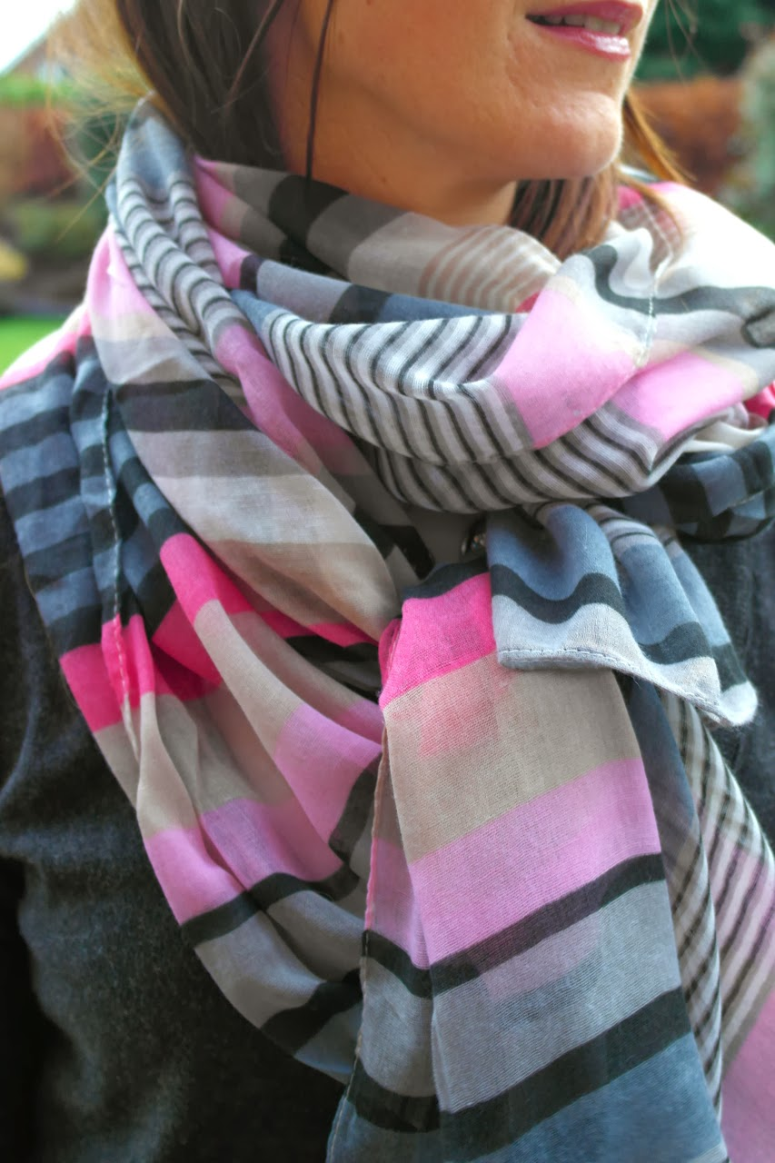 Pink+Stripe+Scarf1 Hats, Scarves & Boys Coats...
