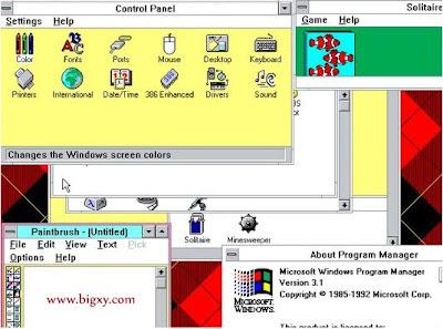 Cómo ha cambiado MS Windows a través del tiempo (capturas)