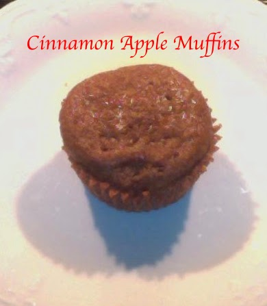 Clean Cinnamon Apple Muffins, clean eating, healthy eating, clean desserts, clean muffin recipes, healthy snacks, clean snacks