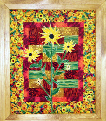 Inspired Creations By D Sunny Day Suzie Quilt Pattern Kit