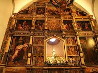 Retaule cinccentista de l'altar del Santuari del Corredor
