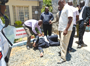 Makueni Governer aides Shot Kenya