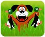 Chó săn vịt, chơi game hành động cực hay