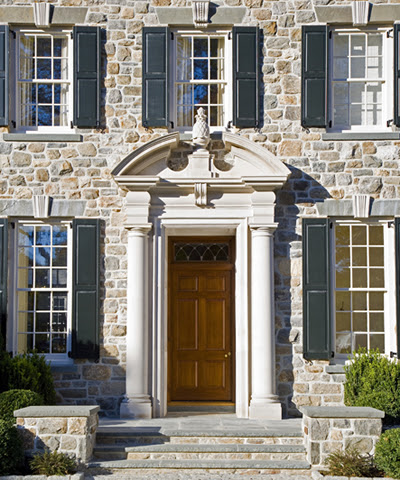 The georgian marquess some georgian inspiration - Exterior door pediment and pilasters ...