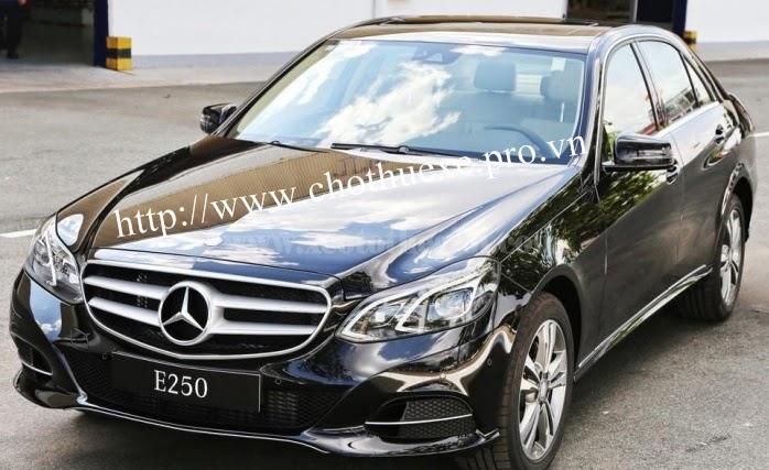 Cho thuê xe Mercedes E250 đời mới tại Đức Vinh