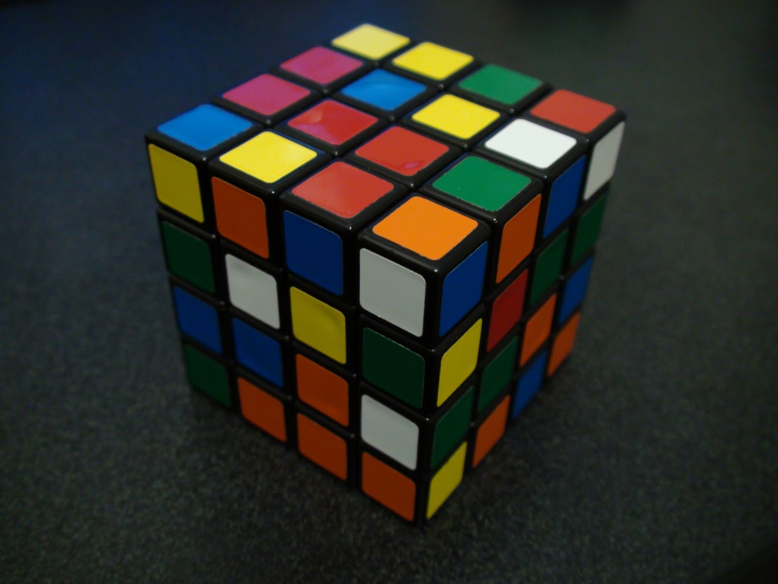 how to solve the last two edges of a 4x4