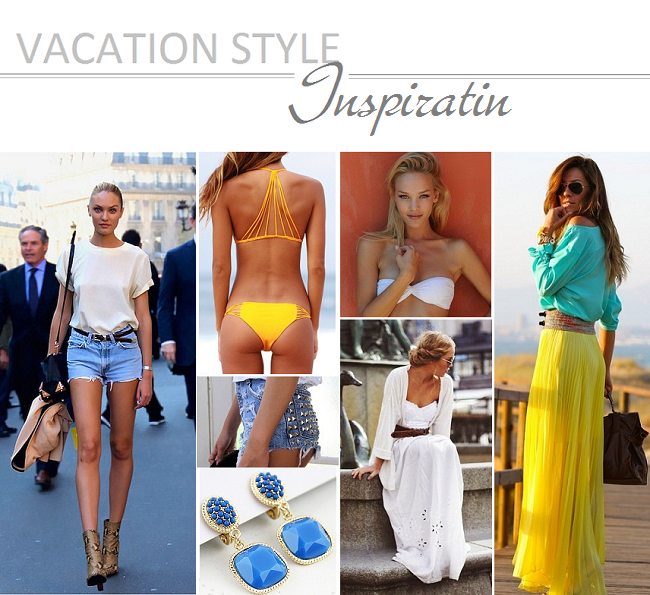 Vacation inspiration: fashion inspired by