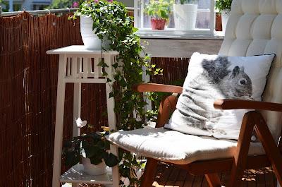 Poduszki na balkon