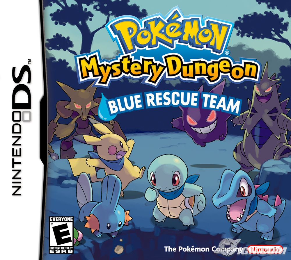 The Pokemon Hive Pokemon Mystery Dungeon Blue Rescue Team