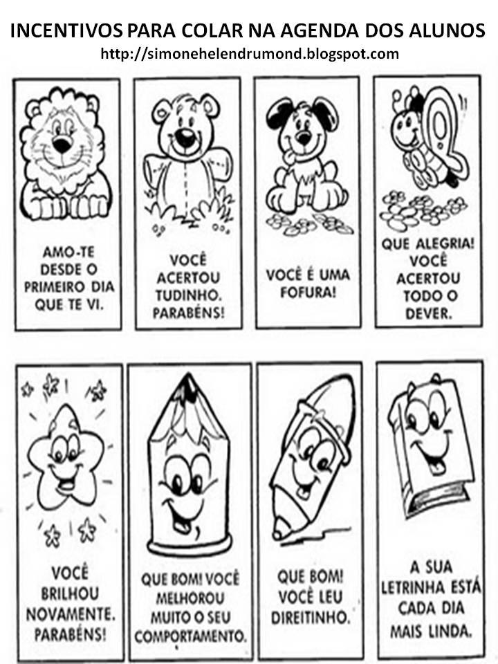Simone Helen Drumond Recadinhos Para Agenda Incentivos