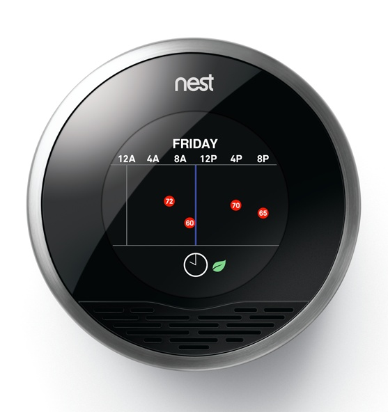 Nest the iphone of thermostats jordan iverson signature homes the blog - Nest thermostat stylish home temperature control ...