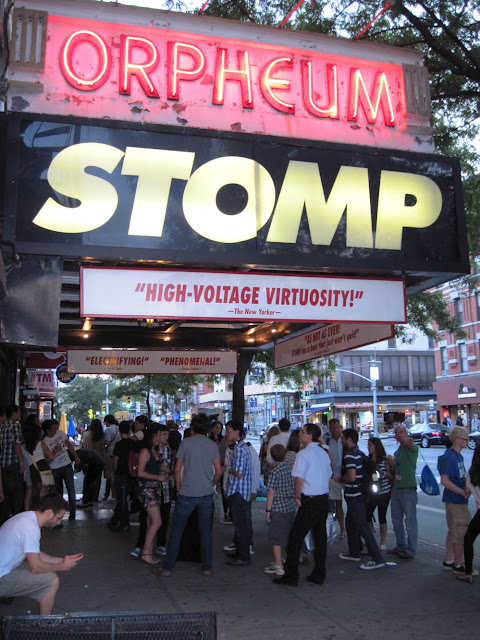 Stomp Orpheum Theatre New York City Vintage Destination