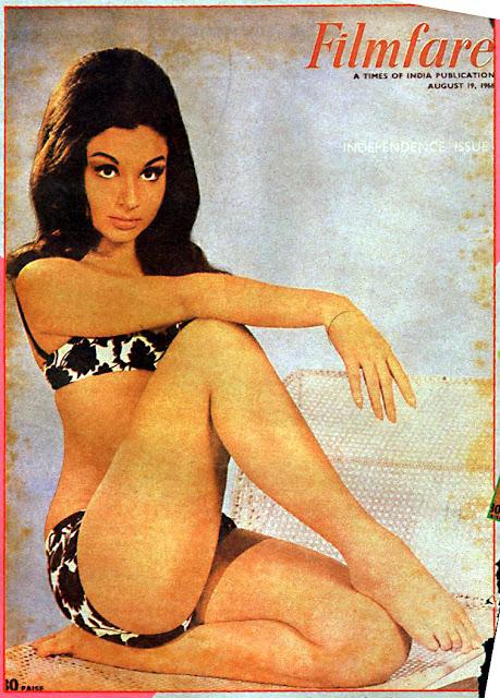 Sharmila Tagore Bikini Pose
