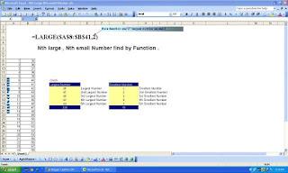 Nth Large Nth Samll data.