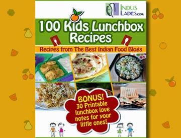 E book by indusladies with 100 kids lunchbox recipes flavors n colors a proud moment for me as i share with you all that two recipes from flavors and colors has been selected and featured in this ebook and me doing happy forumfinder Images