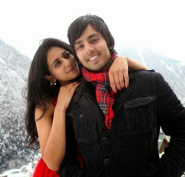 himansh kohli rakul preet singh kissing scene photo