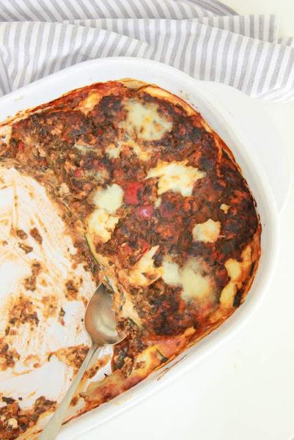 Courgette lasagne - www.desmaakvancecile.com