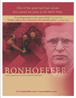 UPCOMING EVENT JULY 10TH:  BONHOEFFER