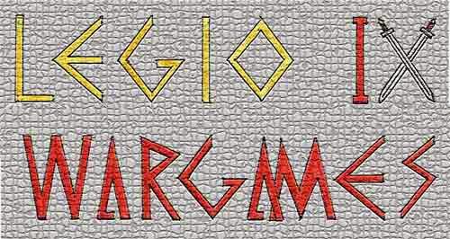 logo de legio IX wargames
