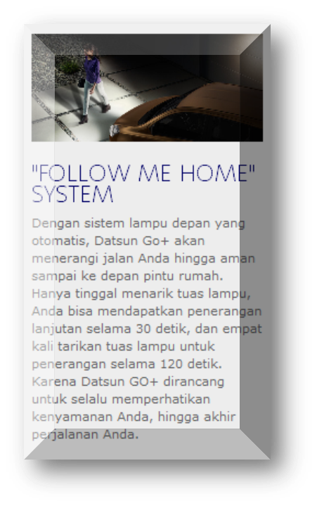 Follow Me Home System