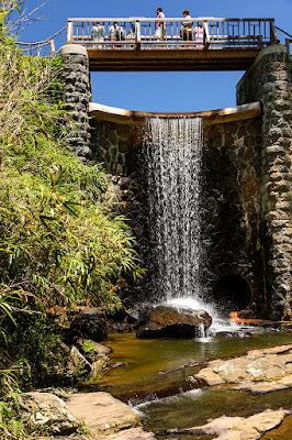 Spillway Falls at Biltmore Gardens