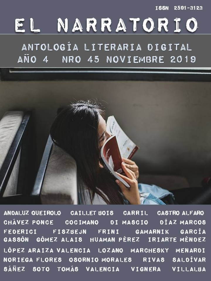 EL NARRATORIO  ANTOLOGÍA LITERARIA DIGITAL NRO 45